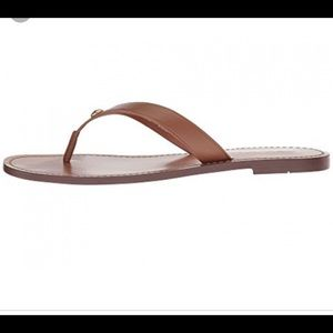 Coach Leather Thong Sandals